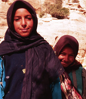 Bedouin Girls