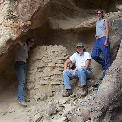 Archaeologists stand by Native American Granary