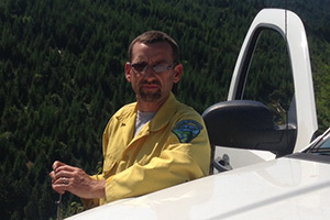 Tom McNamara works with the BLM Roseburg Office