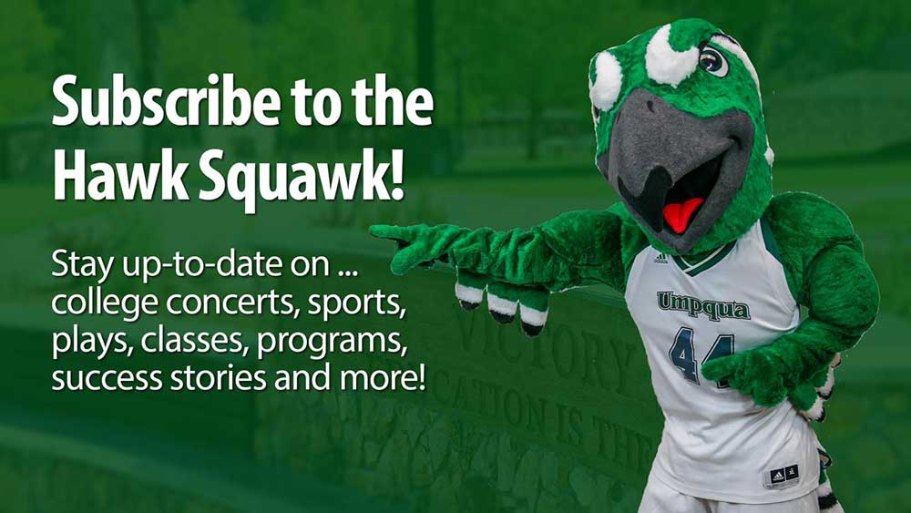 Hawk Squawk Newsletter - Subscribe